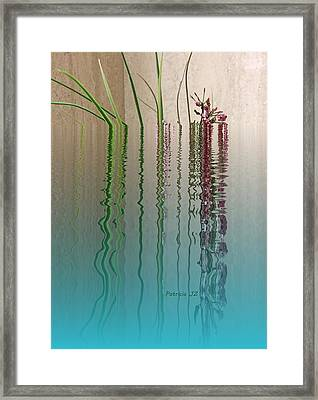 Forgive Reality Framed Print by Patricia Januszkiewicz