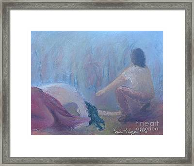 Forgiven Framed Print by Siri Tiger Kaunda