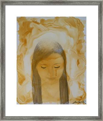 Forgiven Framed Print by T A