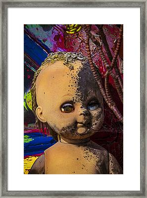 Forgotten Baby Doll Framed Print by Garry Gay