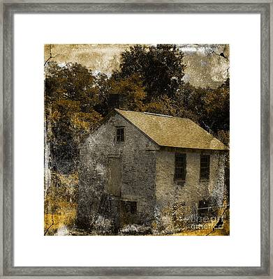 Forgotten Barn Framed Print by Marcia Lee Jones