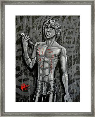 Forgotten Boy Framed Print by Lance Vaughn