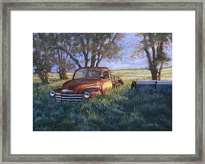 Forgotten But Still Good Framed Print by Jerry McElroy