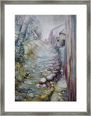 Forgotten By Time Framed Print by Elena Oleniuc