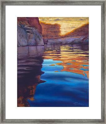 Forgotten Canyon Framed Print