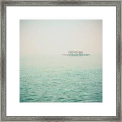 Forgotten Framed Print by Cassia Beck