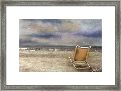 Forgotten Chair Framed Print