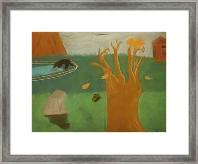Forgotten Child Hood Framed Print by Joshua Massenburg