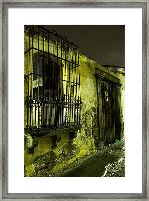 Forgotten Framed Print by Christian Santizo