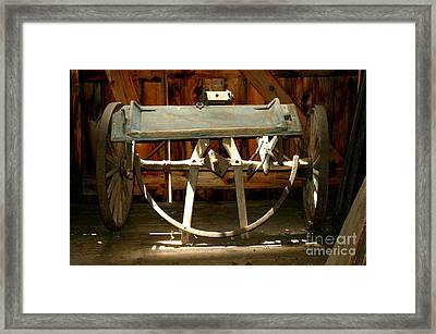 Framed Print featuring the photograph Forgotten by Christiane Hellner-OBrien