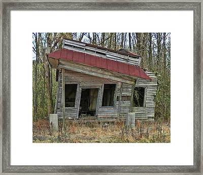 Forgotten Country Store Framed Print