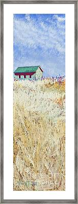 Forgotten Countryside Framed Print by Tracy L Teeter