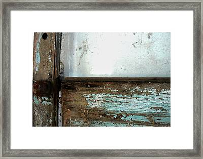 Forgotten Door Framed Print