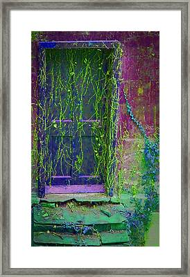 Forgotten Doorway Framed Print by Tony Grider