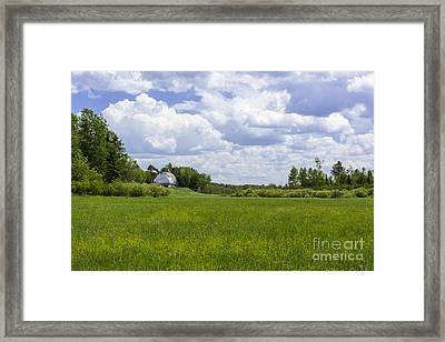 Forgotten Farm Framed Print