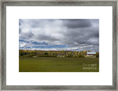 Forgotten Farm II Framed Print