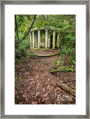 Forgotten Folly Framed Print by Adrian Evans
