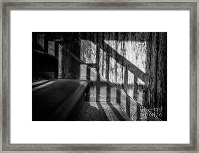 Forgotten Footsteps Framed Print by Dean Harte
