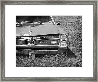 Forgotten Gto Framed Print