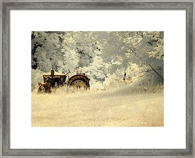 Forgotten Harvest Framed Print by Luke Moore