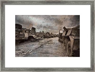Forgotten Heroes Framed Print