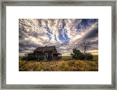 Forgotten House Framed Print