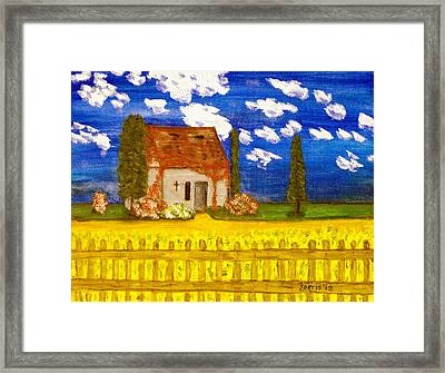 Forgotten In Provence Framed Print