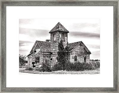 Forgotten In South Jersey Framed Print by Olivier Le Queinec