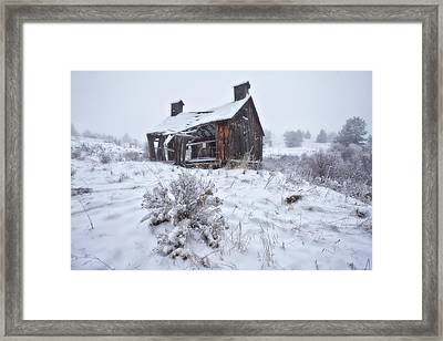 Forgotten In Time Framed Print by Darren  White