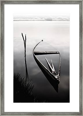 Forgotten In Time Framed Print by Jorge Maia