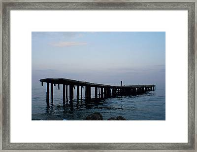 Framed Print featuring the photograph Forgotten by Jon Emery