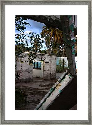 Forgotten Framed Print by Kandy Hurley