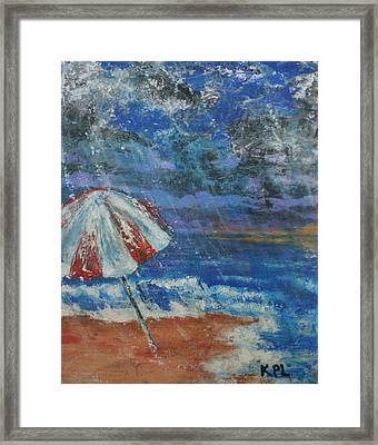 Forgotten Framed Print by Kathy Peltomaa Lewis