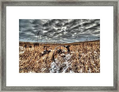 Framed Print featuring the photograph Forgotten by Kevin Bone