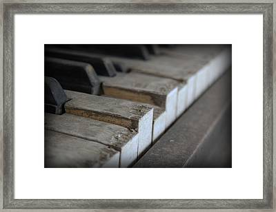 Forgotten Keys Framed Print