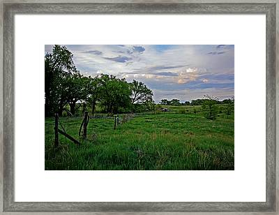 Framed Print featuring the photograph Forgotten But Not Gone by Shirley Heier