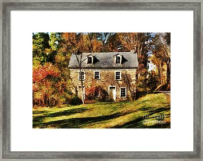 Forgotten Framed Print by Louise Reeves