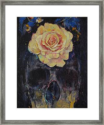 Forgotten Framed Print by Michael Creese