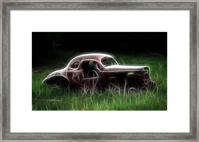 Forgotten Racer Framed Print