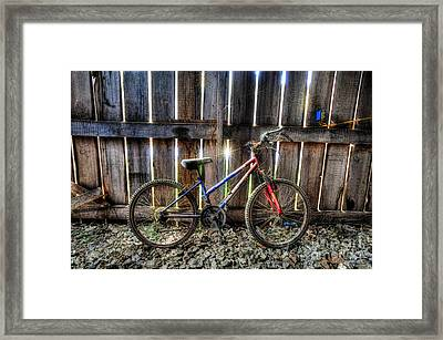 Forgotten Replaced By New Set Of Wheels Framed Print by Dan Friend