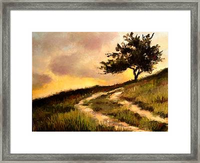 Forgotten Road Framed Print by Susan Jenkins