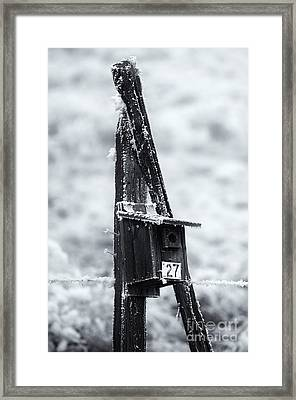 Forgotten Summer Home Framed Print by Mike  Dawson