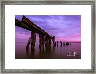 Forgotten Sunrise Framed Print by Matt  Trimble