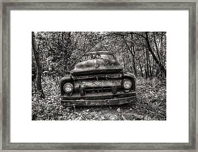 Forgotten Truck Framed Print