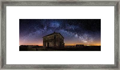 Forgotten Under The Stars  Framed Print by Aaron J Groen