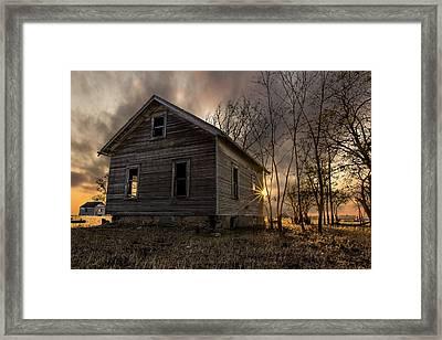 Forgotten V Framed Print