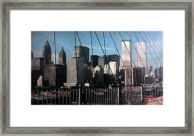 Forgotten View Framed Print by George Pedro