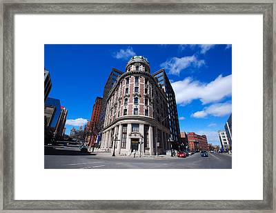 Framed Print featuring the photograph Fork Albany N Y by John Schneider