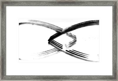Forks Framed Print by Kelly Gibson