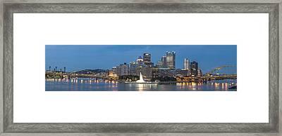 Forks Of The Ohio Framed Print by Jennifer Grover